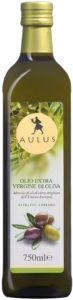 Bottiglia di olio extra vergine di oliva AULUS Comunitario