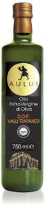 Bottiglia di olio extravergine di oliva AULUS DOP Valli Trapanesi
