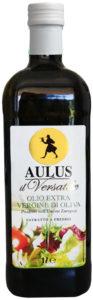 Bottiglia di olio extra vergine di oliva AULUS Il Versatile