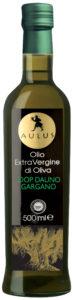 Bottiglia di olio extravergine di oliva DOP DAUNO Gargano
